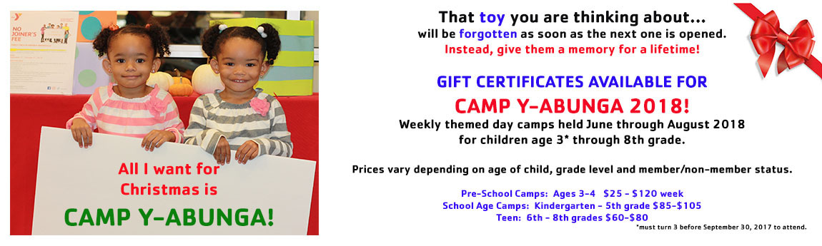 Camp Gift Certificate